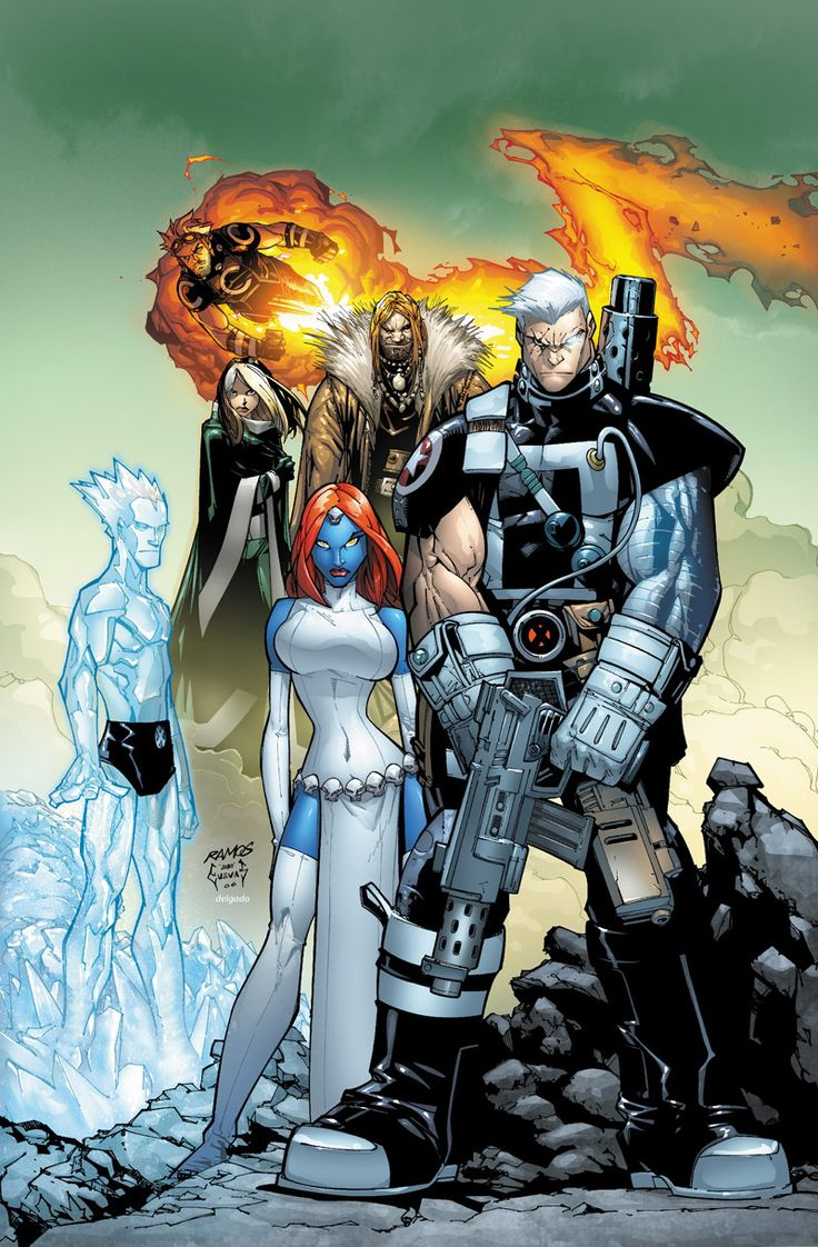 X-Men Chris Bachalo/Ramos.     Best Cable ever.