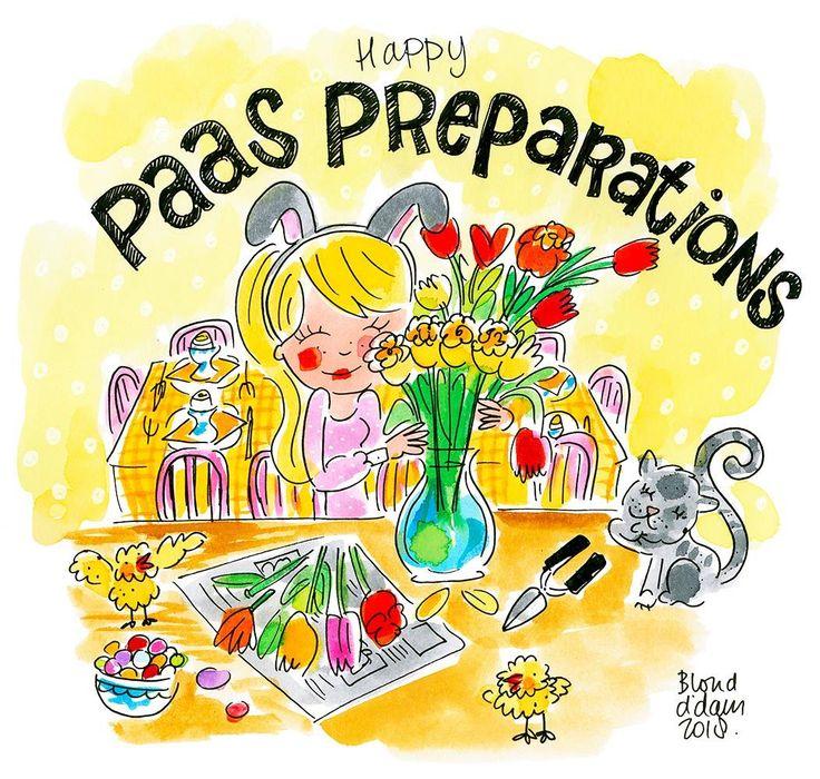 Happy paas preparations - Blond Amsterdam 2018