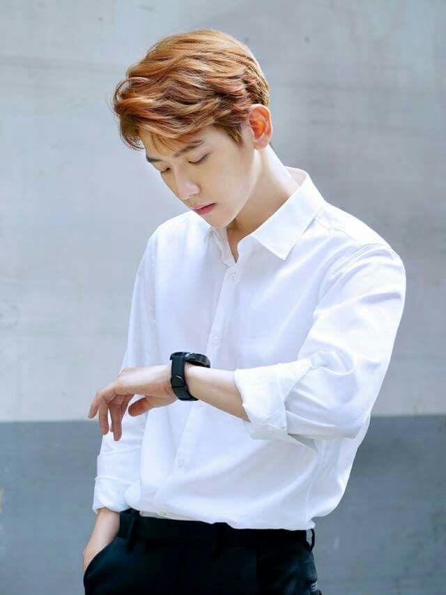 BaekHyun Exo// revista InStyle