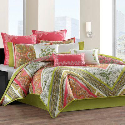 echo design Gramercy Paisley Comforter Set | AllModern