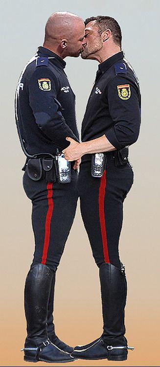 Gay Cops In Uniform 12