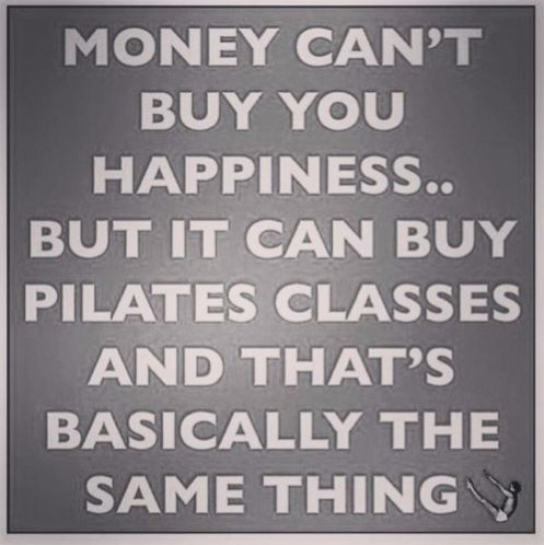 Happiness = Pilates!