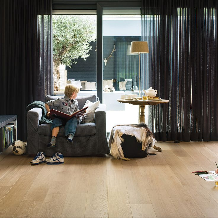 PAL1341H - Pure oak matt, planks