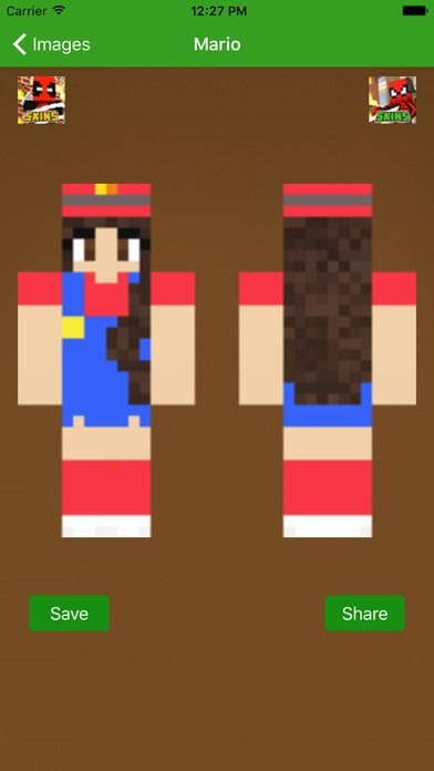 Skins For Minecraft PE - For Super Mario Run Fans on the App Store