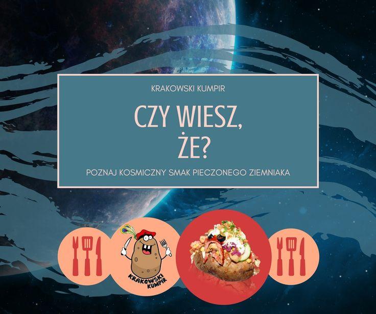Czy wiecie, że ziemniak był pierwszym warzywem, które udało się wyhodować w kosmosie? Tak, tak było i miało to miejsce w 1995 roku :)  #krakowskikumpir #kumpir #kumpirgrecki #grecja #szef #kuchni #poleca #bar #pieczonyziemniak #ziemniak #baked #potatos #kraków #krakow #rzeszów #rzeszow #warszawa #stolica #katowice #polska #googfood #food #jedzenie #zawsześwieże #wakacje #lato #summer #online