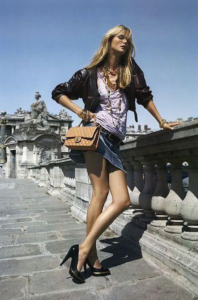 Toute Allure Carmen Kass Vogue Paris-6