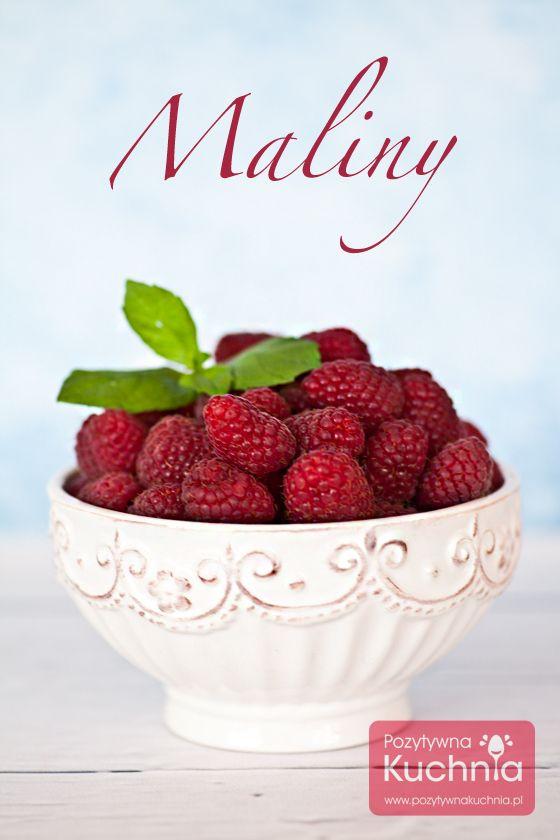 Witaminy, walory i właściwości czyli dlaczego warto jeść #maliny  http://pozytywnakuchnia.pl/maliny-walory/  #kuchnia #zdrowie #dieta