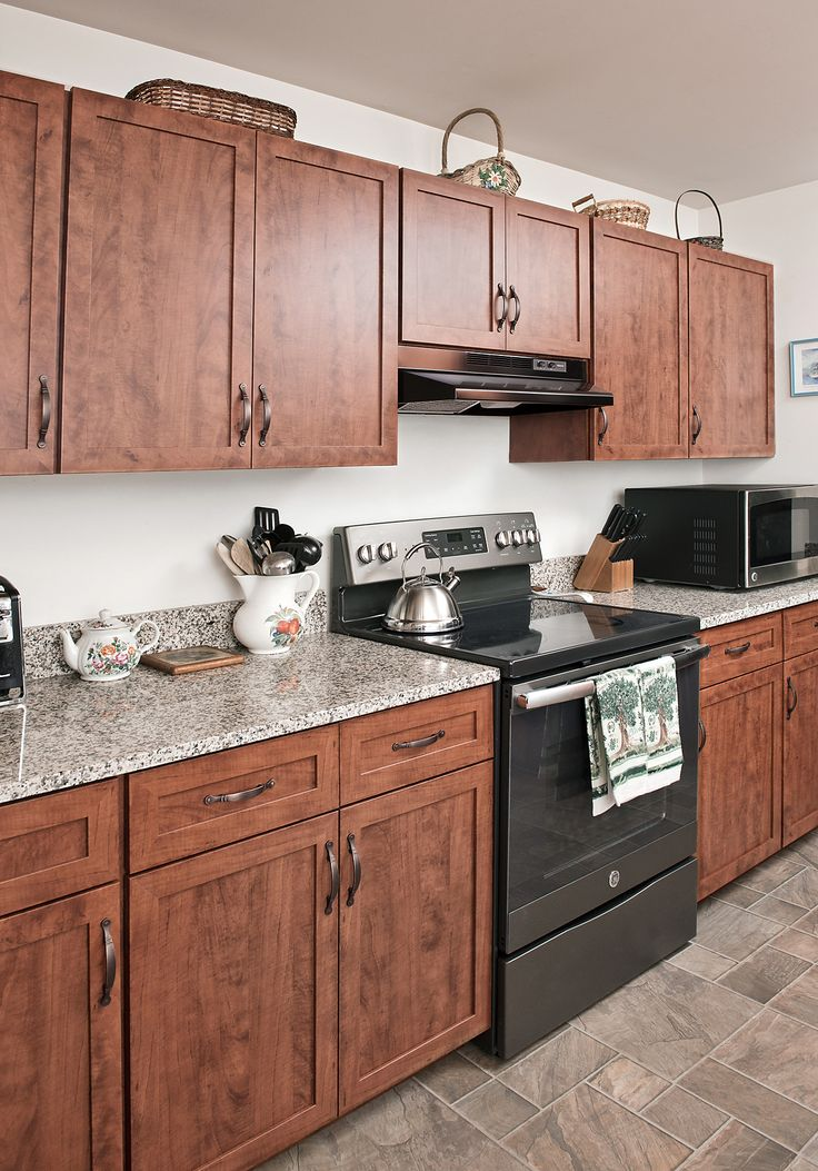 191 best rustic and farmhouse kitchens images on pinterest - Builder grade oak kitchen cabinets ...