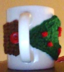 Moogly Christmas Tree Coffee Cozy: http://www.mooglyblog.com/christmas-tree-cozy-tutorial/ Visit me: https://www.facebook.com/crochet.by.susans.soul.shines