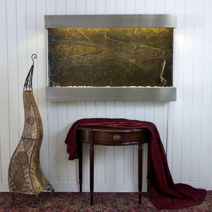 The 25+ best Indoor wall fountains ideas on Pinterest   Indoor ...