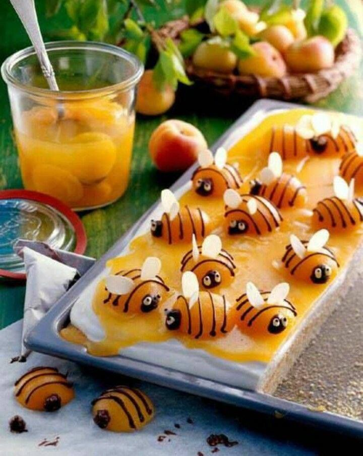 Apricot bees are an awesome treat for kids