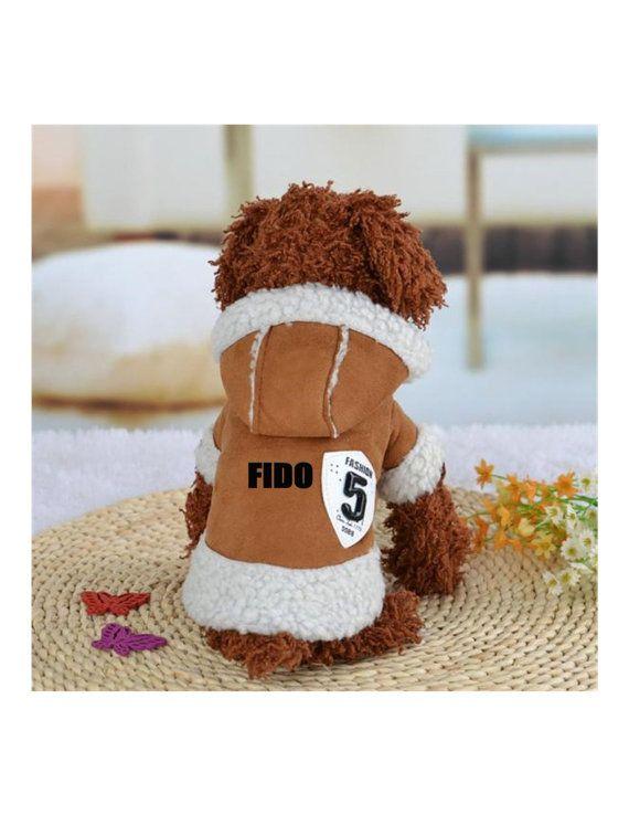 Custom personnaliser la conception de votre manteau d'hiver chien (vêtements pour animaux de compagnie)