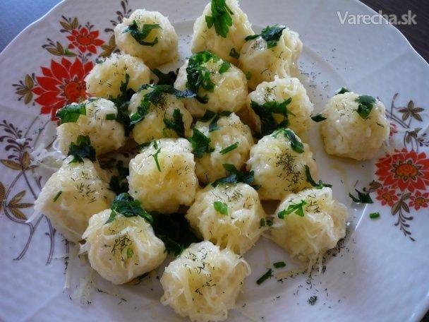 Pšenové knedličky so syrom