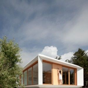 Mima House by Mima Architects // beautiful prefabricated house that cost roughly the price of a family car to produce