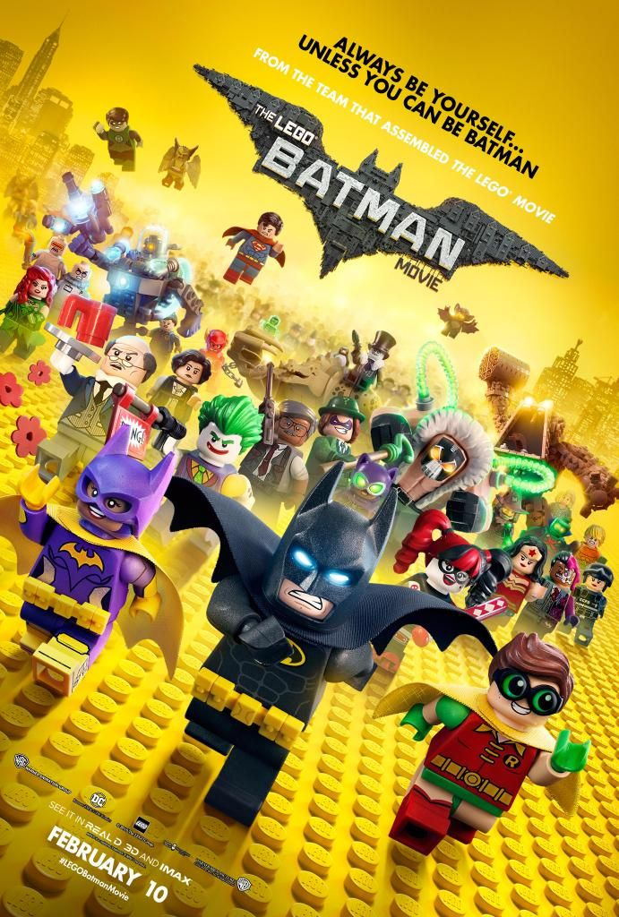 Check out a new LEGO Batman Movie poster that is jam-packed with LEGO Batman Movie characters. Can you name all the DC Comics minifigs on the new design?