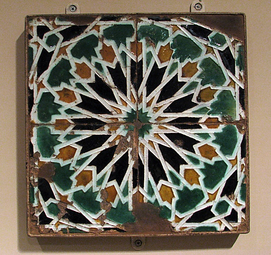 Panel of Tiles, Spain, 16th century
