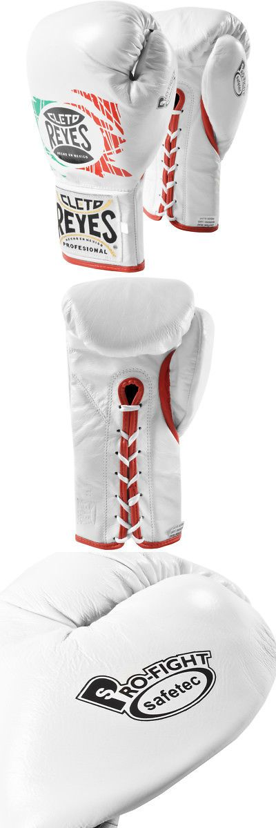 Gloves - Boxing 30102: Cleto Reyes Safetec Professional Boxing Fight Gloves - Mexican Flag -> BUY IT NOW ONLY: $153 on eBay!