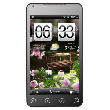 Dophin 5.0 Inch Android 2.3 Smart phone (3G Multimedia Touchscreen Dual SIM GPS)