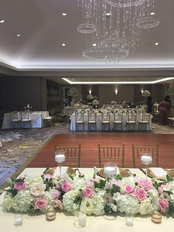 wedding venues on budget in atlanta%0A Blush and Gold Wedding   Hyatt Regency Atlanta Perimeter at Villa Christina    Atlanta Bride