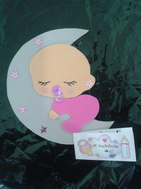 Souvenirs nacimiento beby #nena #babyshowers