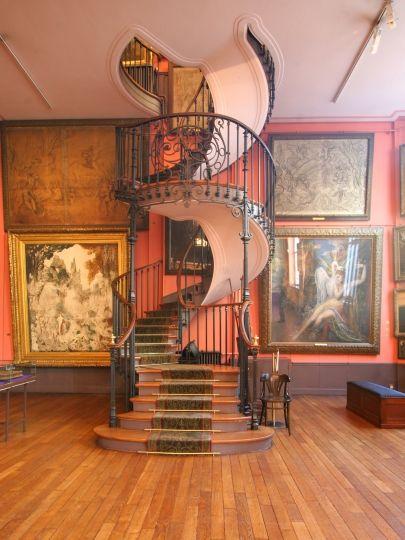 escalier en spirale - Musée Gustave-Moreau