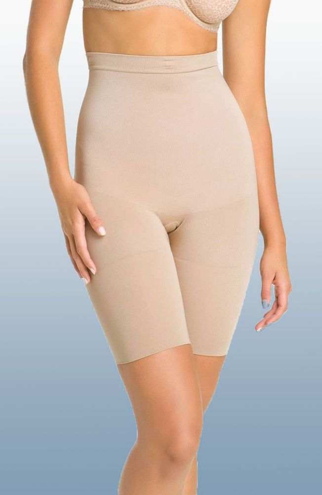 0f17fd2d4427c5 SPANX 067 Shaping High Waist Long Leg Shorts Nude Size Large NWT No Strap  #fashion #clothing #shoes #accessories #womensclothing #intimatessleep  (ebay link)