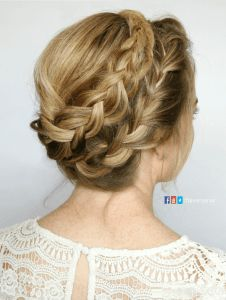 French Milkmaid braid