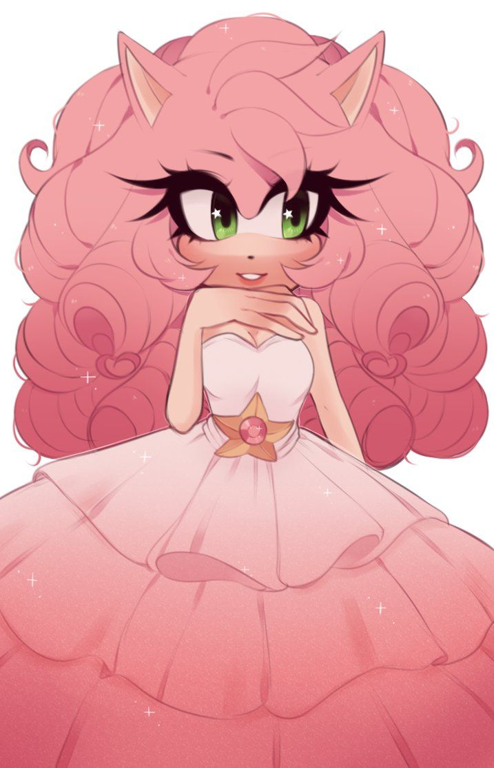 amy rose quartz by Rasbii on DeviantArt