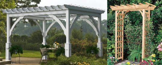 1000 ideas about pergolas para jardin on pinterest - Pergolas para jardines ...
