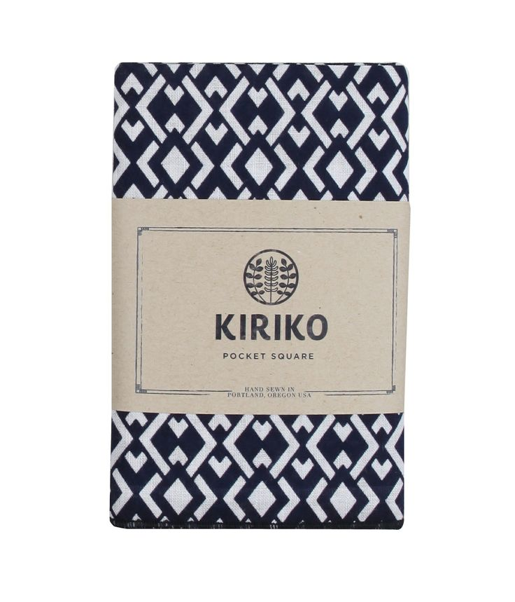 Kiriko pocket square $49 available at Saba #giftsforhim #christmas