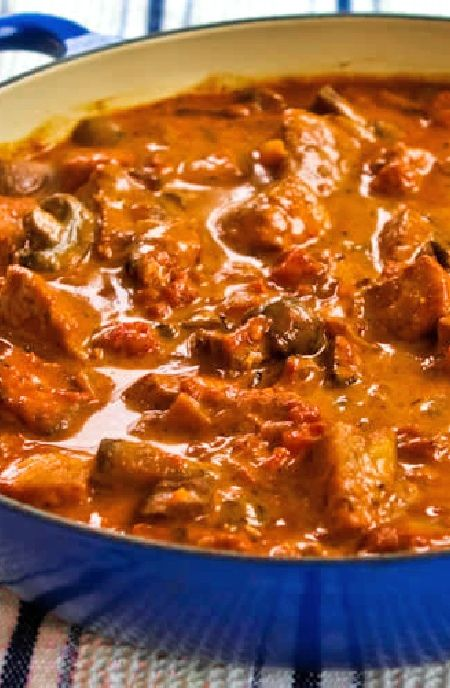 Lage FODMAP Recept en glutenvrij Recept - Paprika varkensvlees