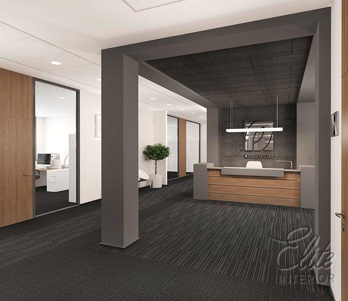 Дизайн інтер'єру офісу компанії