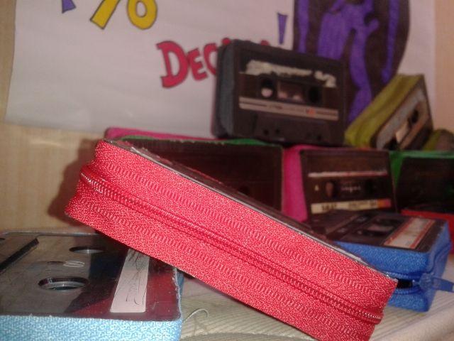 monedero de cassette