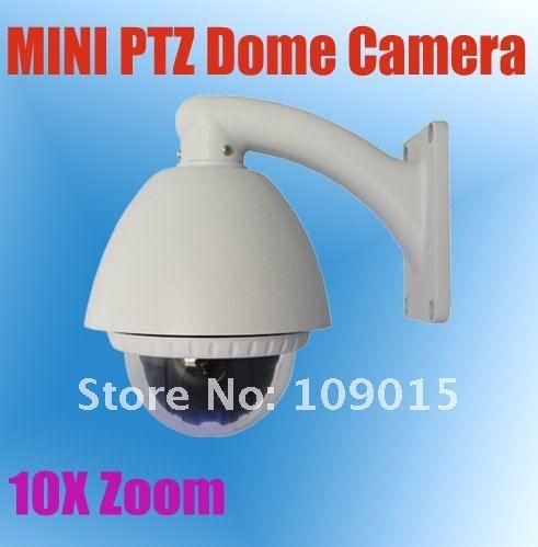 Дешевое 10 кратным оптическим зумом антивандаль мини ptz купольная фотоаппарат, Ke mi5200 a, Купить Качество Surveillance Cameras непосредственно из китайских фирмах-поставщиках:  10x оптический зум-объектив антивандальная мини-Высокоскоростная купольная камера PTZ, KE-MI5200-     Технические