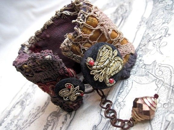 Indus Valley. Victorian Tribal Cuff. by fancifuldevices on Etsy