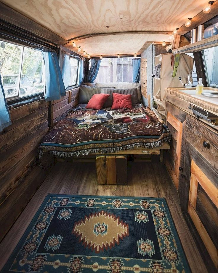 40+ Incerdible Photo Gallery Rustic RV Interior