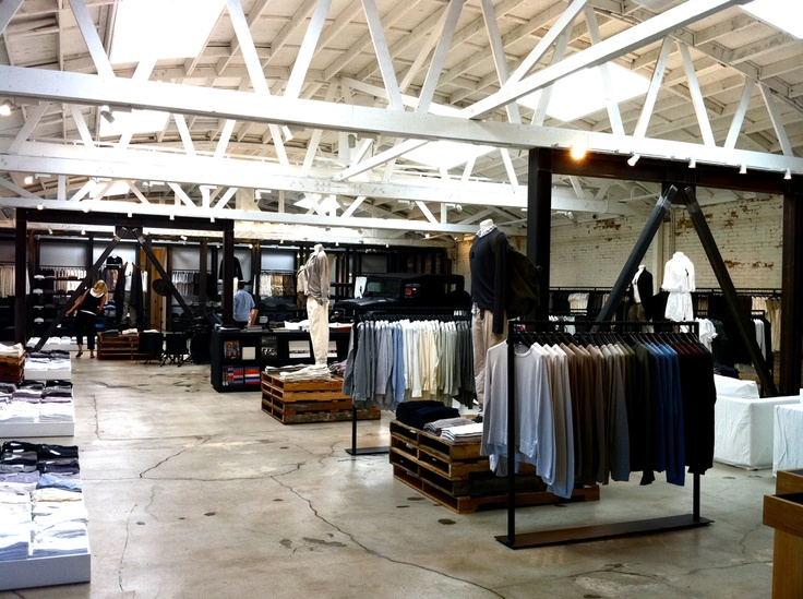 I Visited This James Perse Boutique In Hollywood And Loved