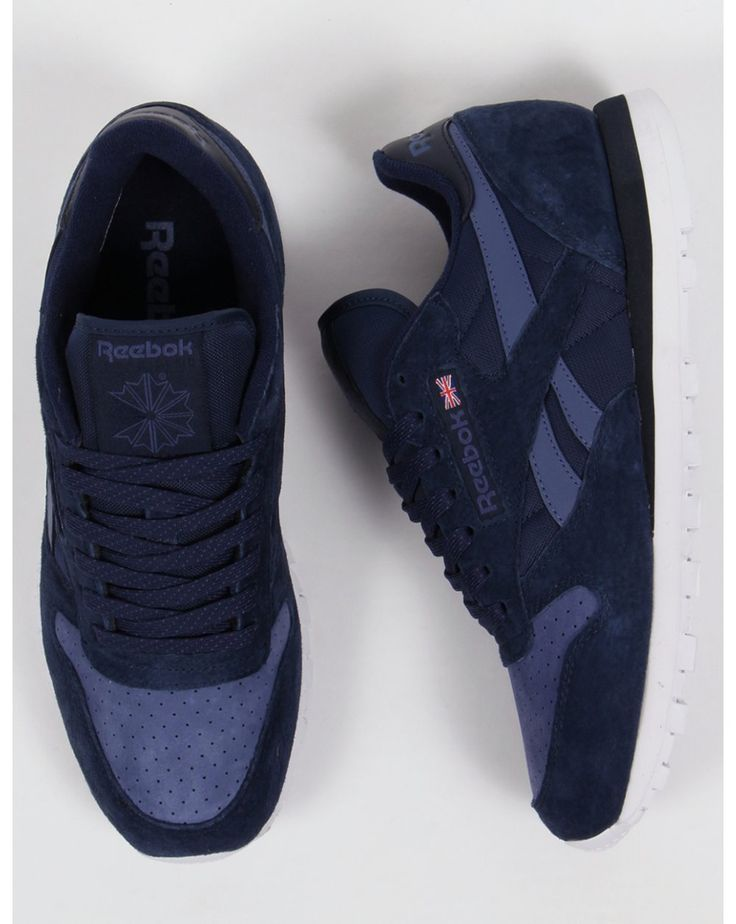Reebok Classic Leather NP Trainers Navy/Midnight Blue
