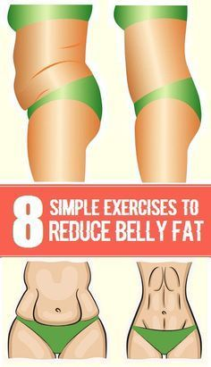 8 Simple Exercises To Reduce Belly Fat | Styles Of Living