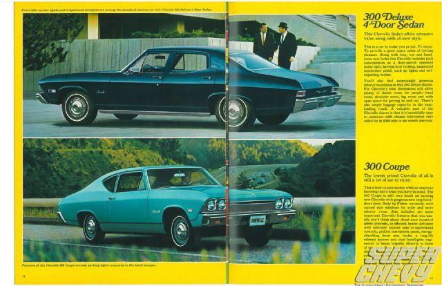 1968 Chevelle Sales Brochure - Super Chevy Magazine