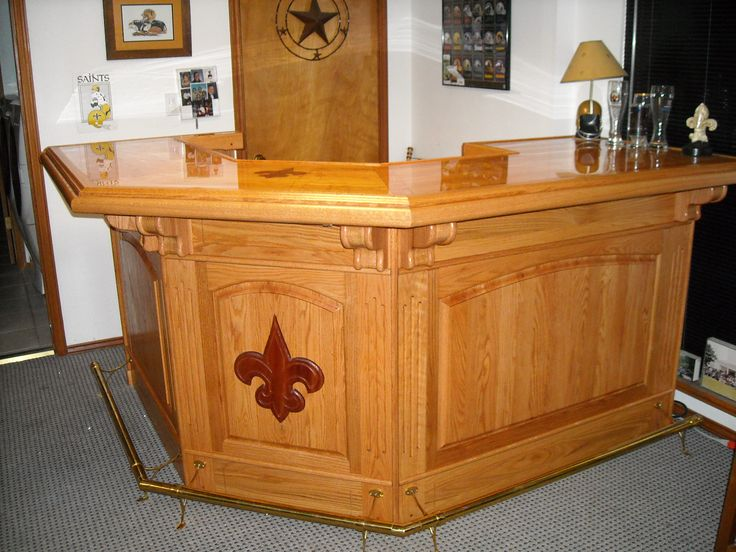 Shorty 45 Corner Wet Bar Project By Site Member Darrell G. Used EHBP 09
