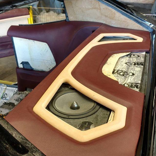 Custom Chevelle Rear Deck Speakers Hat Rack Door Panels