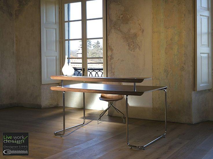 Tavoli.tavoli moderni e di design tradizionale in legno a materiali più attuali. - Studio Architettura Designer1995 - Studio Architettura Designer1995