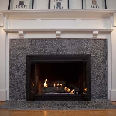 Best 25 Mosaic Tile Fireplace Ideas On Pinterest