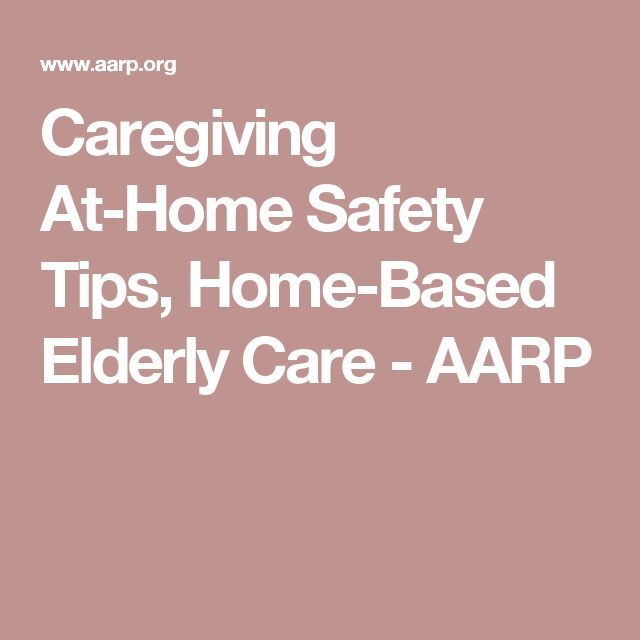 Aarp adult care older