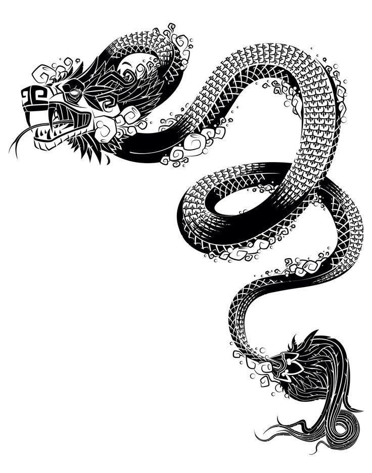 Quetzalcóatl... Serpiente emplumada. Luz, sabiduría, fertilidad y conocimiento. Patrón de los vientos y del día.