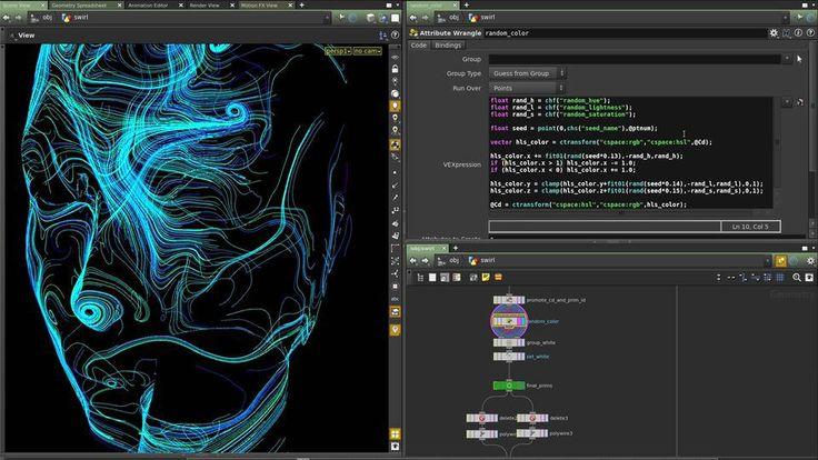 Particle Trails in HoudiniComputer Graphics & Digital Art Community for Artist: Job, Tutorial, Art, Concept Art, Portfolio