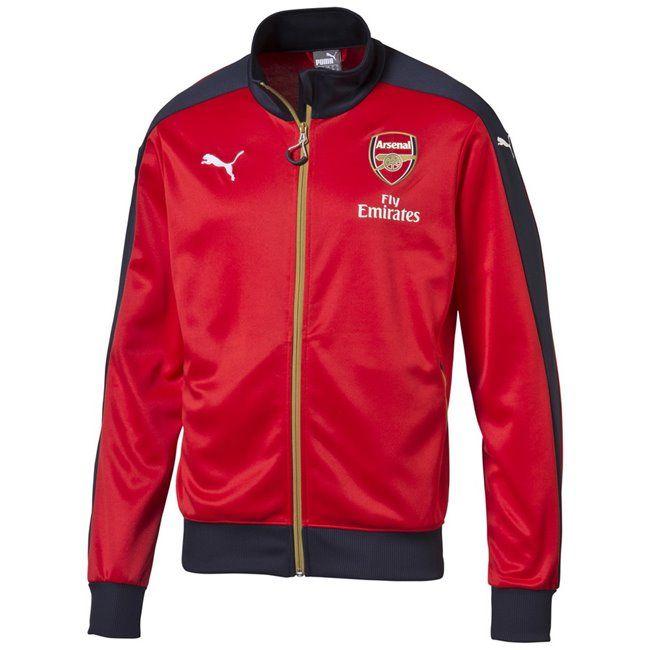 PUMA Arsenal FC Stadium Jacket pánská bunda