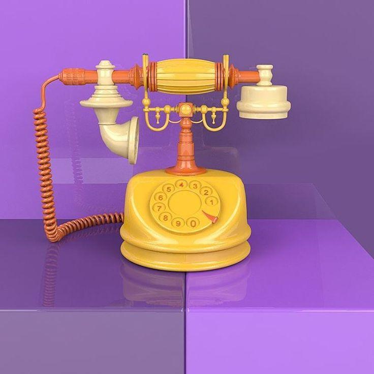 "51 Me gusta, 5 comentarios - Deibydp.lab (@deibydp.work) en Instagram: ""Vintage phone . . . . #vintage #vray  #3d #cinema4d #render #day #instalike #3dmodel #artdirection…"""