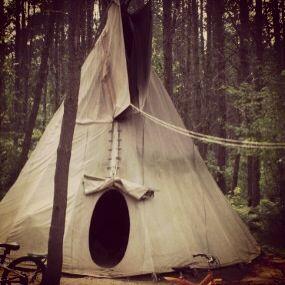 Camping et tipis Labelle et la Rouge